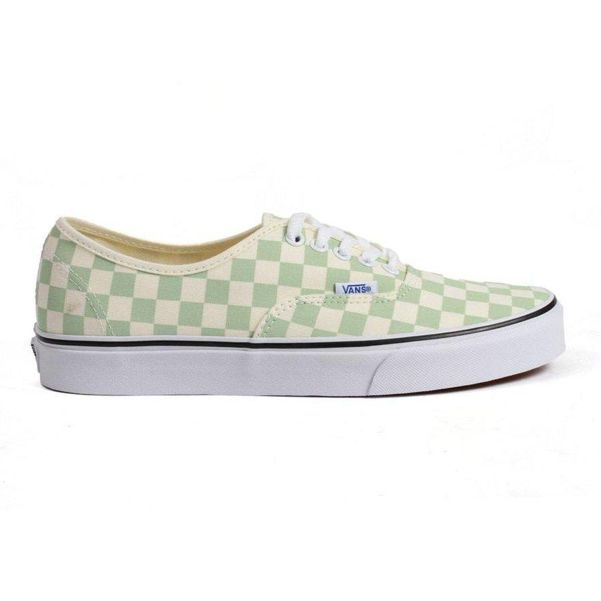 Vans Authentic Checkerboard - Ambrosia True White - Identity Boardshop 32d90a121c