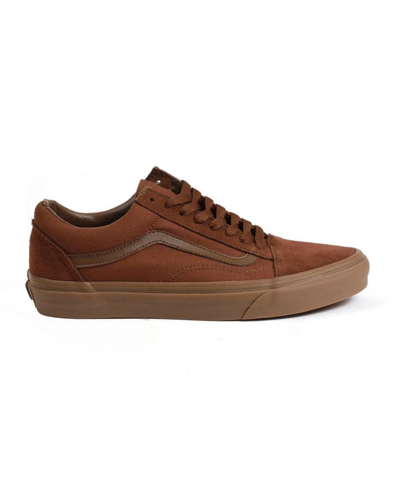 Vans Old Skool - Suede/Canvas/Brown/Gum