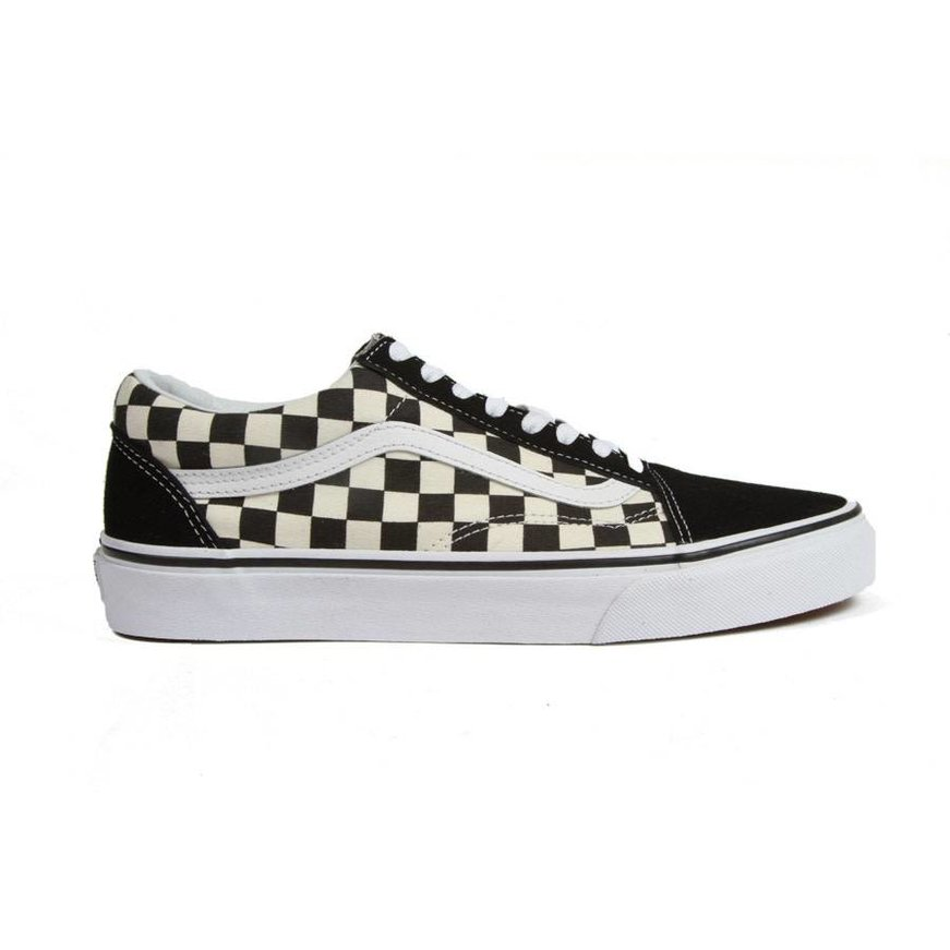 Vans Old Skool Primary Checkerboard - Black White - Identity Boardshop d33d281c1