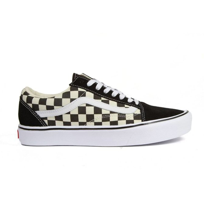 Vans Old Skool Lite Checkerboard Black White Identity Boardshop