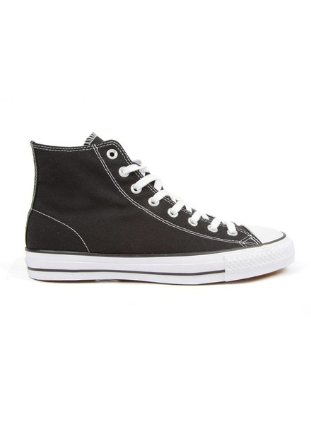 Converse CTAS Pro Hi - Black/White Canvas