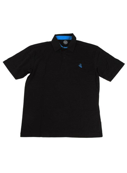 Santa Cruz Skateboards Screaming Hand Polo - Black