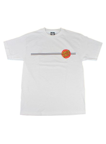 Santa Cruz Skateboards Classic Dot Tee - White