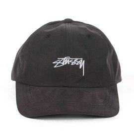 Stüssy Peached Smooth Stock Hat - Black