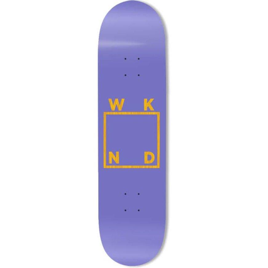 "WKND WKND Logo Deck - Purple (8.25"")"