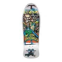"Santa Cruz Skateboards Santa Cruz Jim Thiebaud Deck - White Joker Re-Issue (10.0"")"