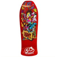 "Santa Cruz Skateboards Santa Cruz Jeff Grosso Deck - Toybox  Orange Candy Reissue (10.0"")"