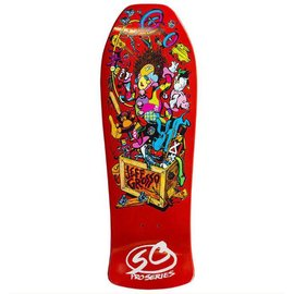 "Santa Cruz Skateboards Grosso - Toybox  Orange Candy Reissue (10.0"")"