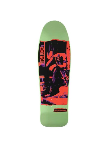 "Santa Cruz Skateboards Knox - Punk Re-Issue (9.98"")"