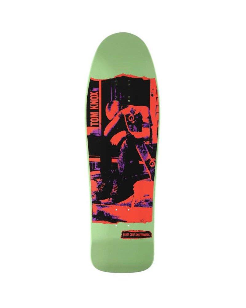 """Santa Cruz Skateboards Santa Cruz Tom Knox Deck - Punk Re-Issue (9.98"""")"""