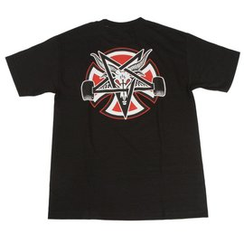 Independent Trucks x Thrasher Pentagram Tee - Black