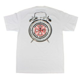 Independent Trucks x Thrasher Time To Go Tee - White
