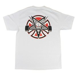 Independent Trucks x Thrasher Pentagram Tee - White