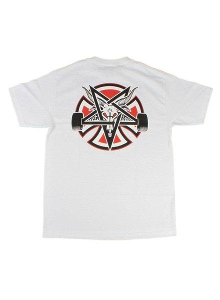 Independent Trucks x Thrasher Pentagram Tee - White