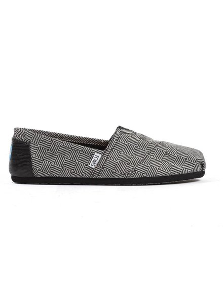 TOMS Classics - Black Diamond Wool