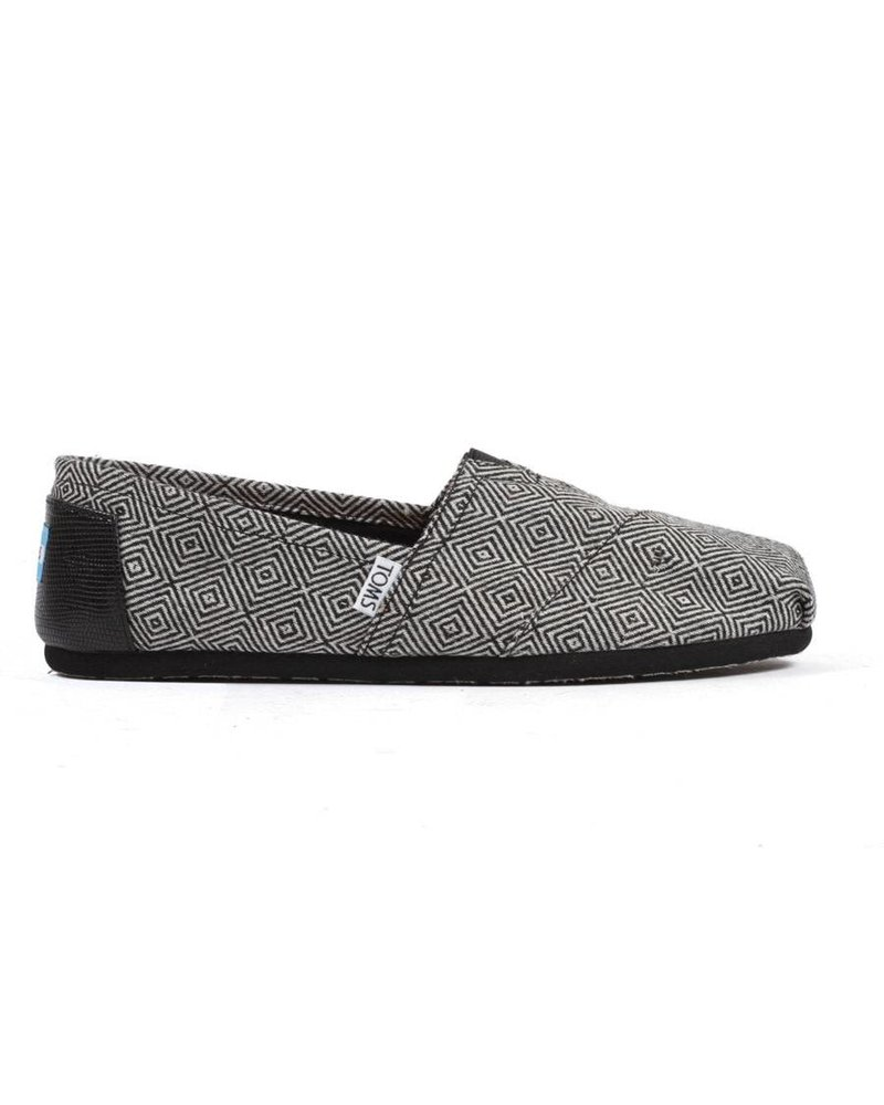 TOMS Women's Classics - Black Diamond Wool