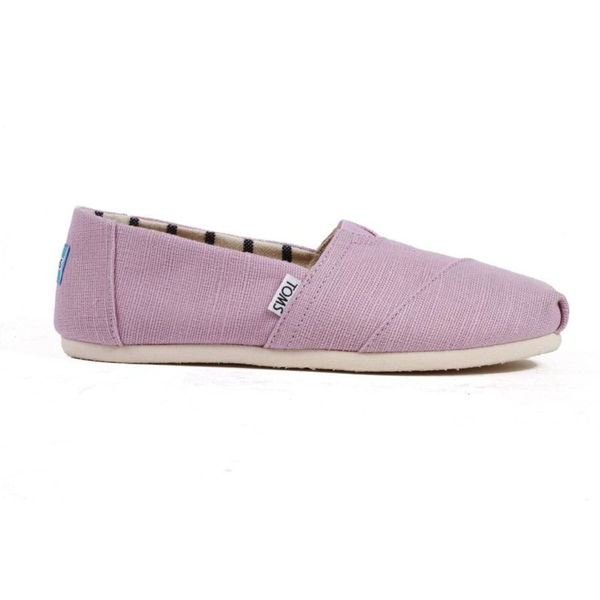 7a46bc05a62 Toms Women s Classics - Soft Lilac Heritage Canvas - Identity Boardshop