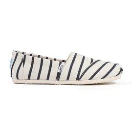 Classics - White/Navy Riviera Stripe