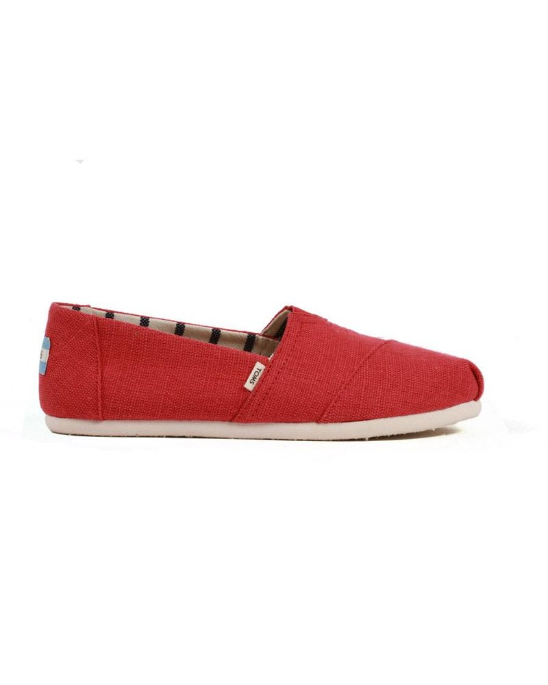 TOMS Women's Classics - Apple Red Heritage