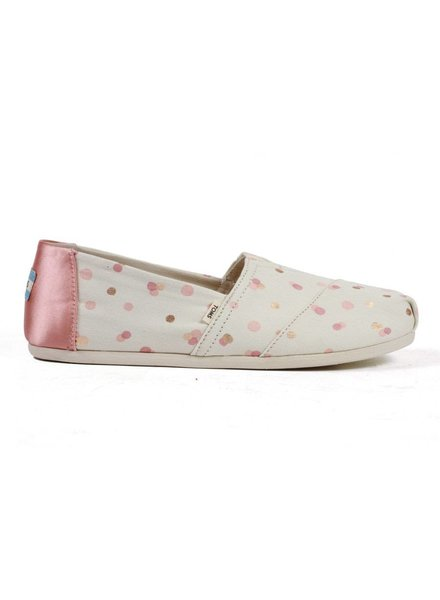 TOMS Classics - Pale Blush Metallic