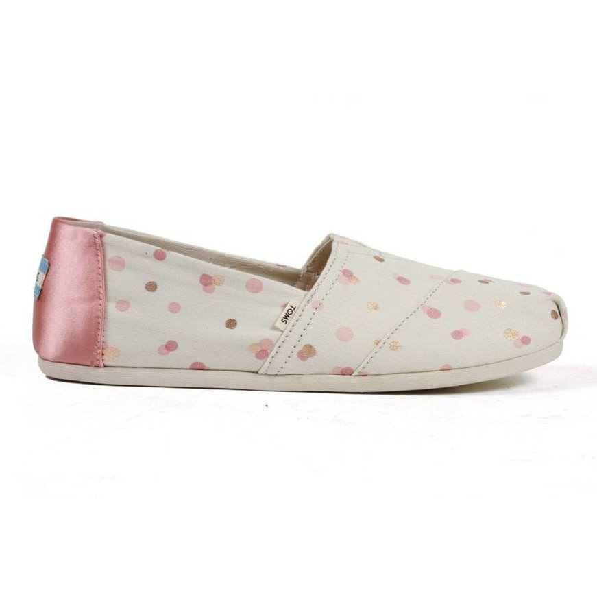TOMS Women's Classics - Pale Blush Metallic