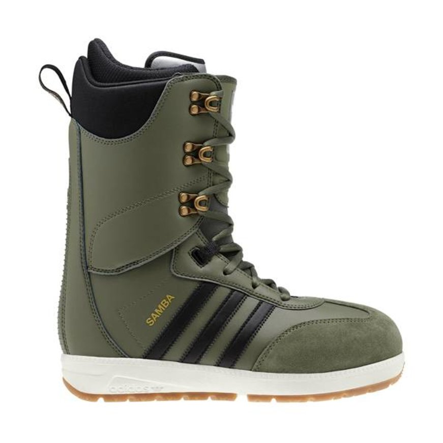 adidas adidas Samba ADV Snowboard Boot - Base Green/Core Black