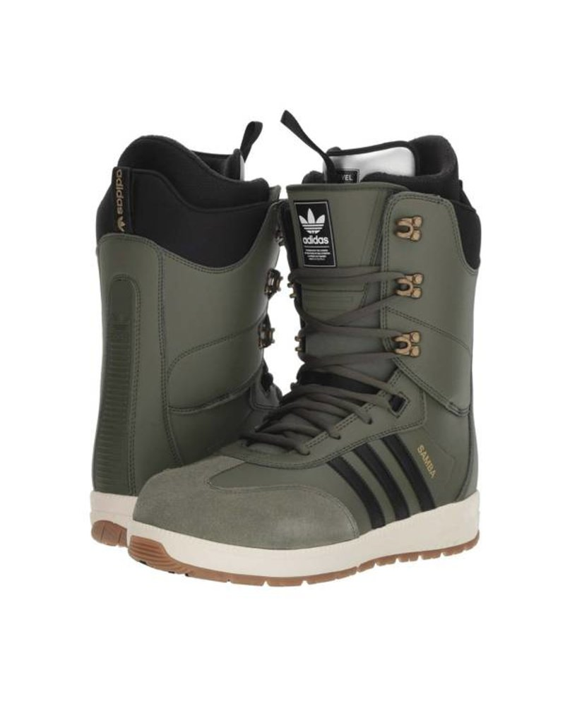 adidas adidas Samba ADV Snowboard Boot - Base Green/Core Black