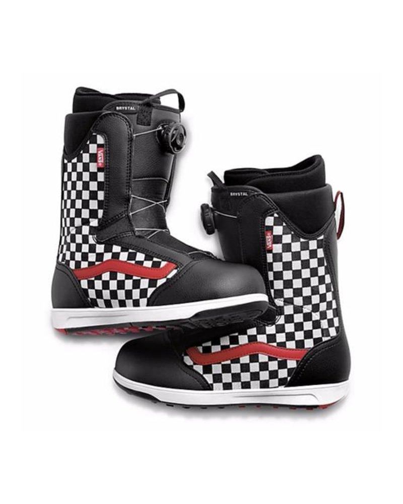 Vans Vans Brystal Youth Snowboard Boots - Checkered