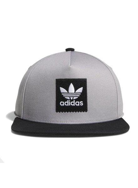 adidas Two Tone Blackbird Snapback - Light Granite/Black
