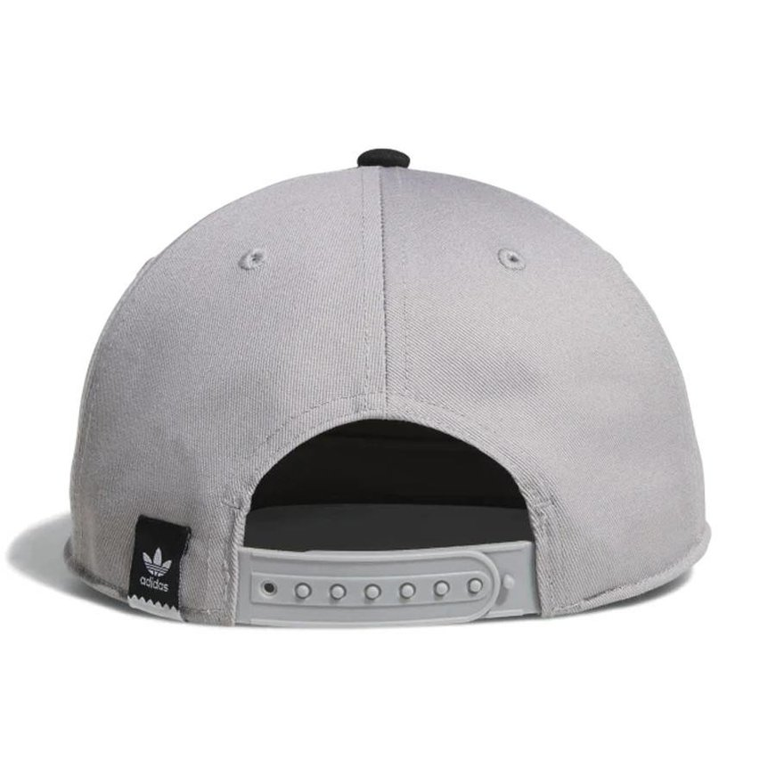 f7b3eb7a316d4 ... adidas adidas Two Tone Blackbird Snapback Hat - Light Granite Black