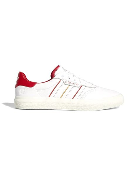 adidas 3MC X Evisen Vulcs - Cloud White/Scarlet/Gold Metallic