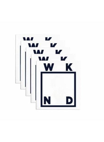 WKND Logo Sticker