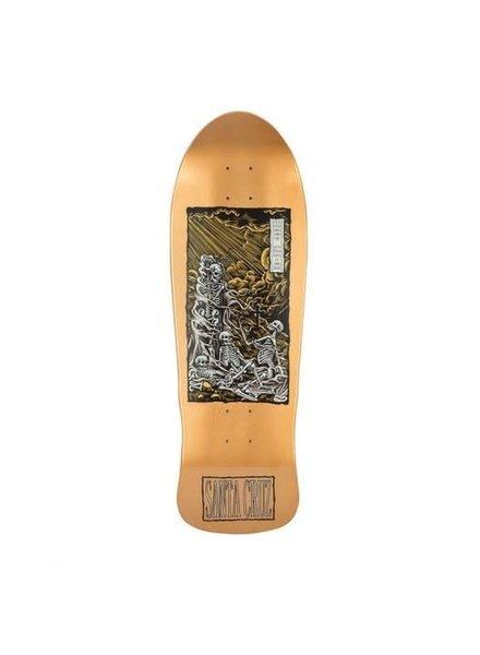 "Santa Cruz Skateboards O'Brian Deck - Purgatory Reissue (9.85"")"