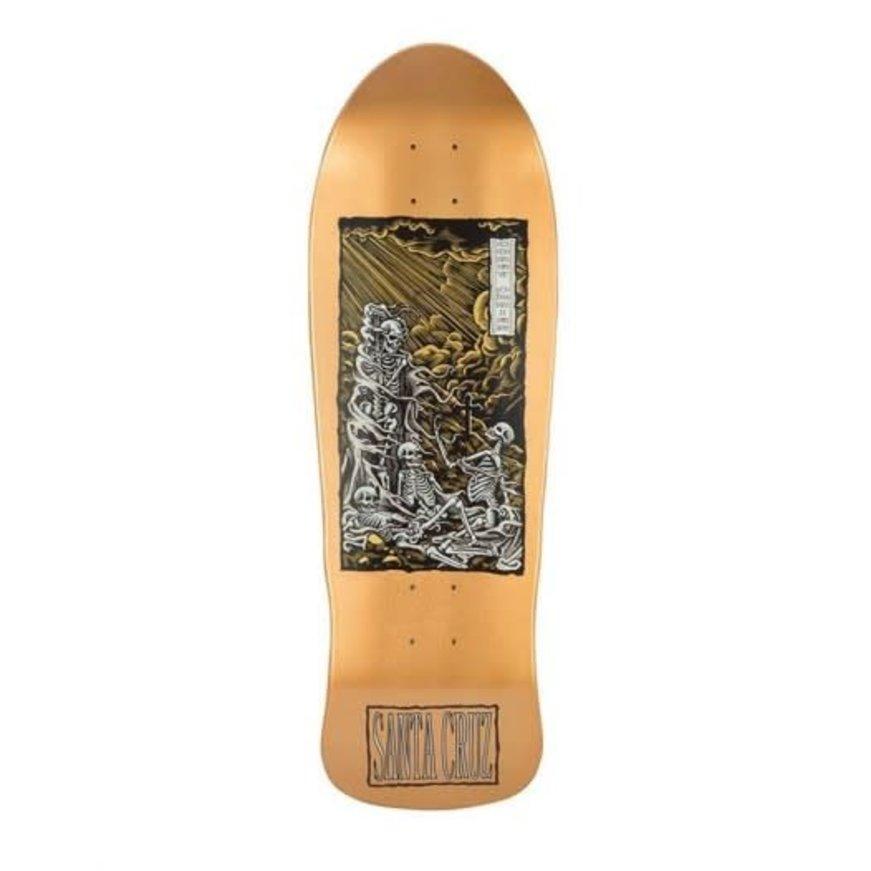 "Santa Cruz Skateboards Santa Cruz O'Brian Deck - Purgatory Reissue (9.85"")"