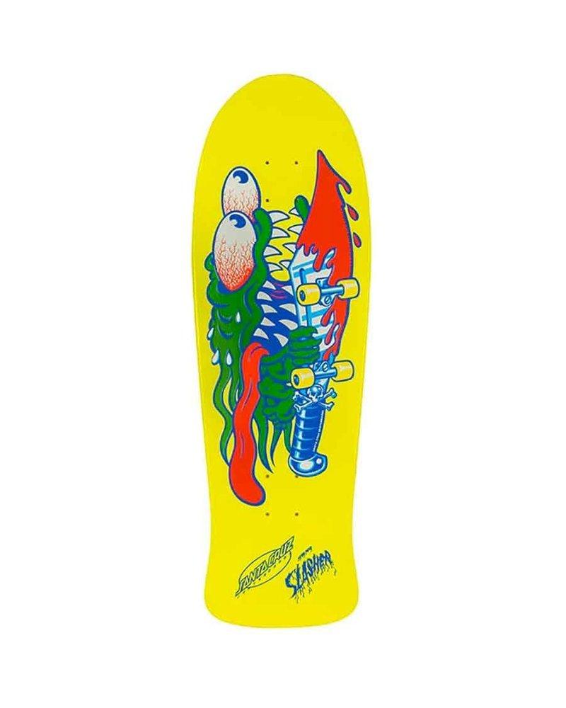"Santa Cruz Skateboards Santa Cruz Slasher Deck Reissue (10.1"")"