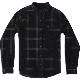RUCA Plaid Phases Corduroy Flannel Shirt