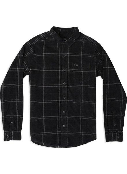 RUCA Plaid Phases Corduroy Flannel Shirt