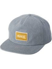 RVCA Pace Structured Cap - Light Blue