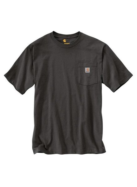 CARHARTT INC. Workwear Pocket Tee - Peat