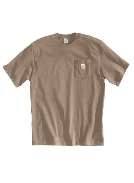 CARHARTT INC. Workwear Pocket Tee - Desert Tan