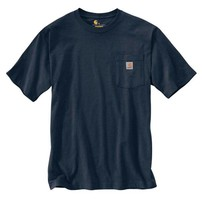 CARHARTT INC. Carhartt Workwear Pocket Tee - Navy