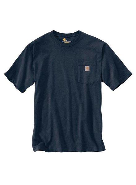 CARHARTT INC. Workwear Pocket Tee - Navy