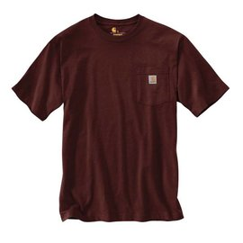 CARHARTT INC. Workwear Pocket Tee - Port