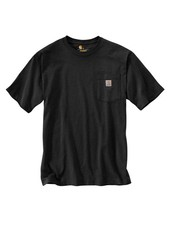 CARHARTT INC. Workwear Pocket Tee - Black