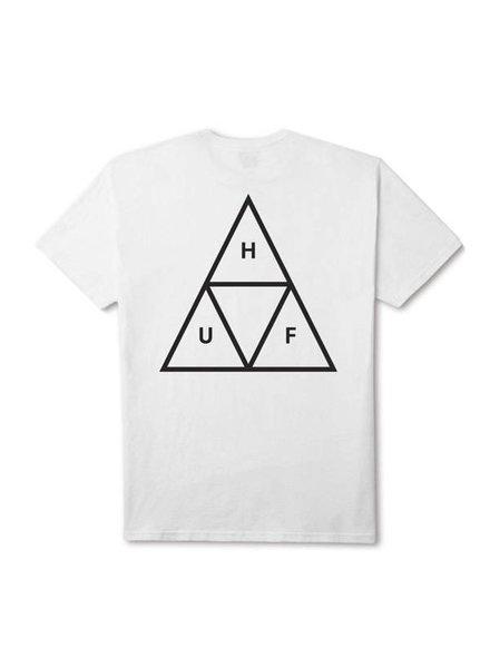 HUF Essentials Triple Triangle Tee - White
