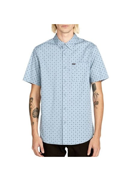 Volcom Salt Dot Short Sleeve Button Up