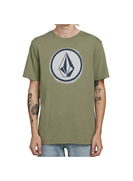 Volcom Spray Stone Tee - Dusty Green