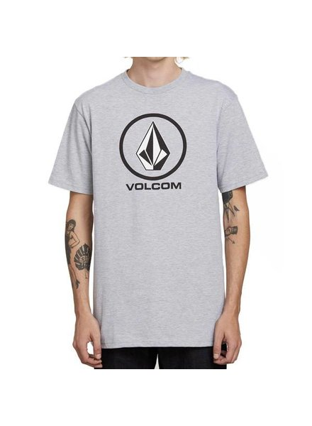 Volcom Crisp Stone Tee - Heather Grey
