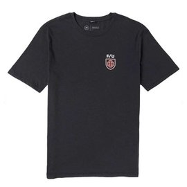 Brixton x Independent Hedge Tee - Washed Black