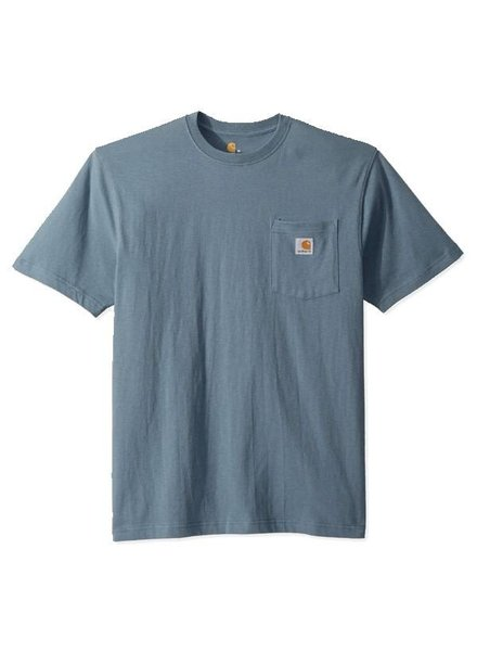 CARHARTT INC. Workwear Pocket Tee - Steel Blue